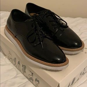 Patent Oxfords, Black